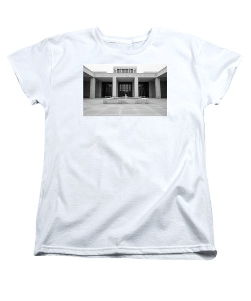 The George W. Bush Presidential Library And Museum  Women's T-Shirt (Standard Cut) by Robert Bellomy
