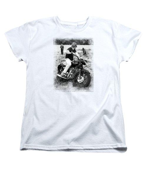 The Great Escape Women's T-Shirt (Standard Cut) by Mark Rogan