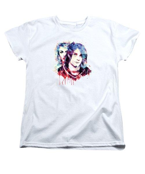 The Grunge Couple Women's T-Shirt (Standard Cut) by Marian Voicu