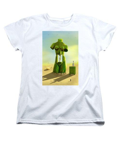 The Nightstand 2 Women's T-Shirt (Standard Cut) by Mike McGlothlen
