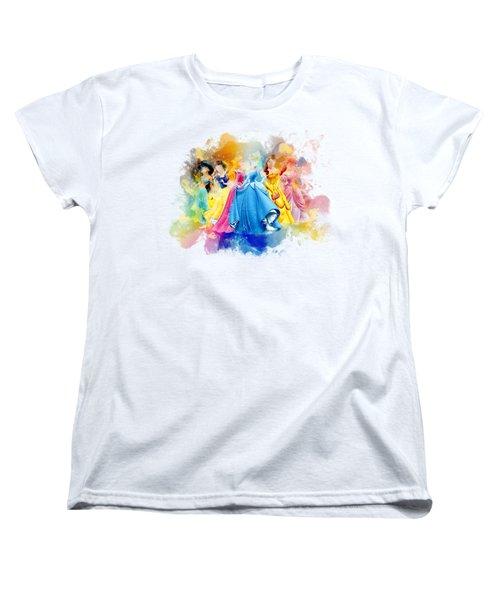 The Princess Women's T-Shirt (Standard Cut) by Rinaldo Ananta