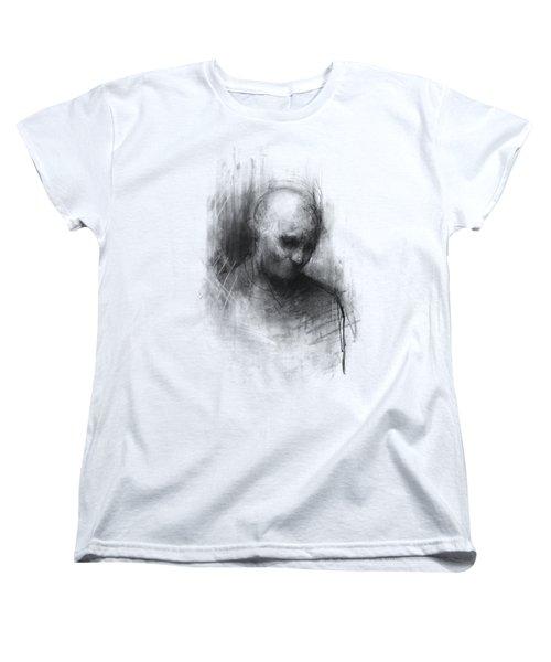 Thinker II Women's T-Shirt (Standard Cut) by Bruno M Carlos