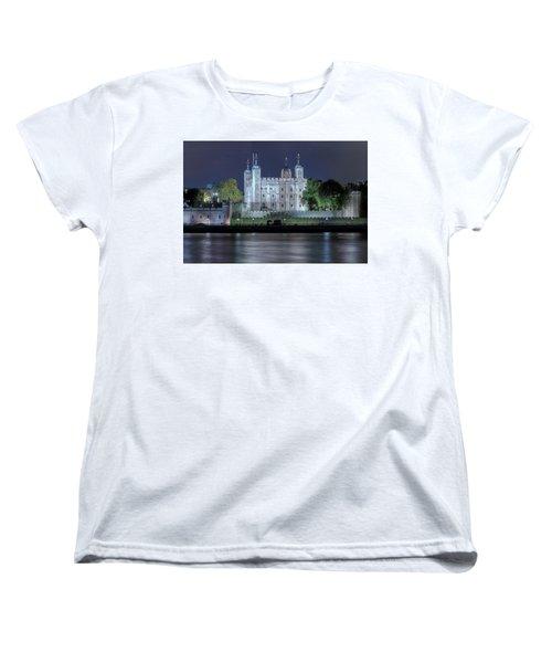 Tower Of London Women's T-Shirt (Standard Cut) by Joana Kruse