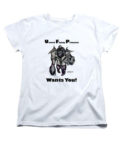 UFP Women's T-Shirt (Standard Cut) by Riley Frank
