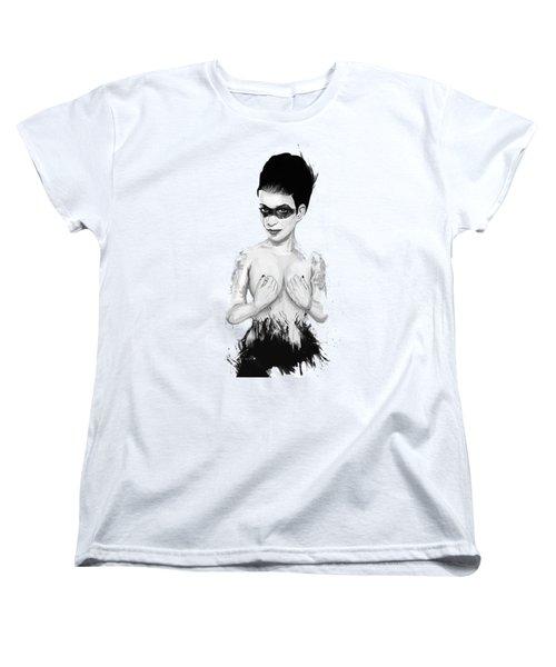 untitled III Women's T-Shirt (Standard Cut) by Balazs Solti
