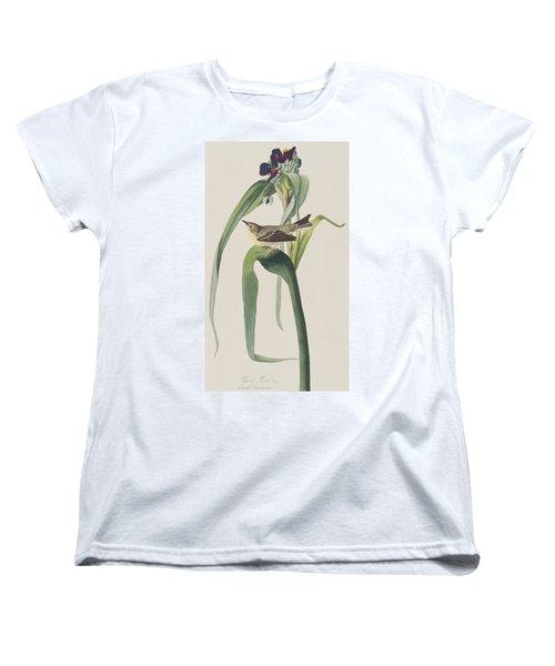 Vigor's Warbler Women's T-Shirt (Standard Cut) by John James Audubon