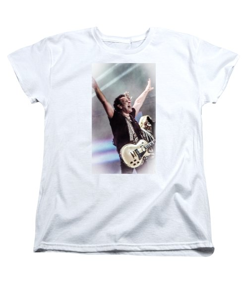 Vivian Campbell - Campbell Tough Women's T-Shirt (Standard Cut) by Luisa Gatti