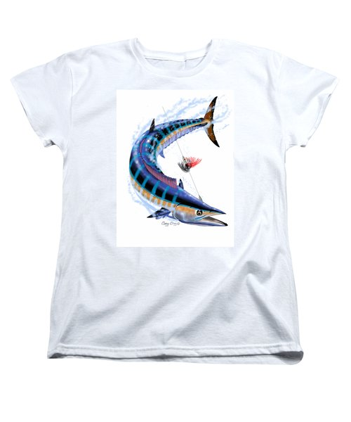 Wahoo Digital Women's T-Shirt (Standard Cut) by Carey Chen