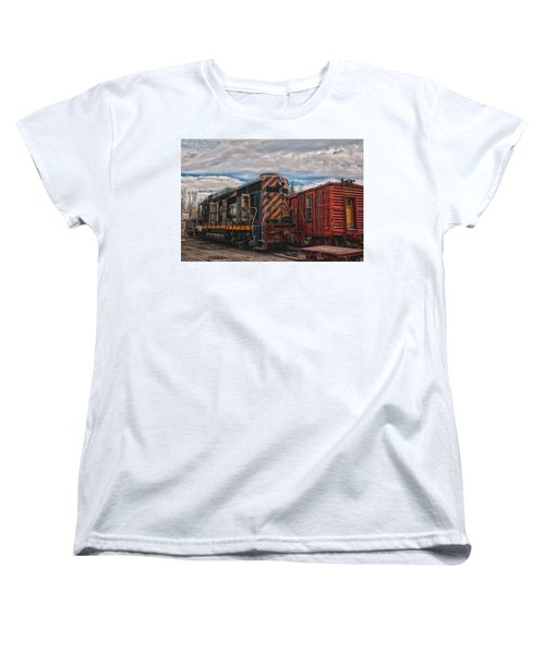 Waiting For Work Women's T-Shirt (Standard Cut) by Michael Connor