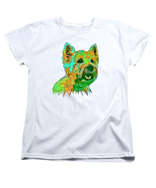 West Highland Terrier Women's T-Shirt (Standard Cut) by Marlene Watson