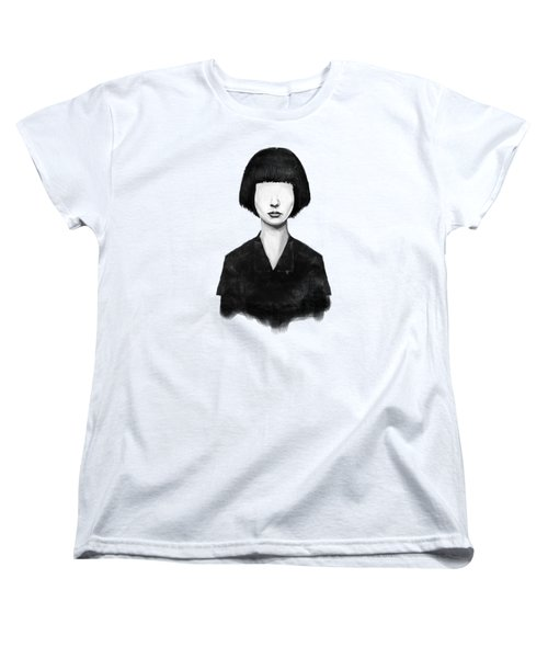What You See Is What You Get Women's T-Shirt (Standard Cut) by Balazs Solti