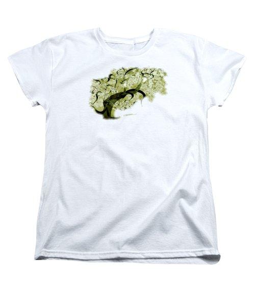Wishing Tree Women's T-Shirt (Standard Cut) by Anastasiya Malakhova