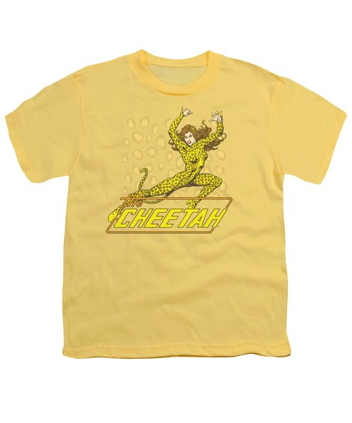 Dc - The Cheetah Youth T-Shirt by Brand A