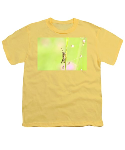 Grasshopper  Youth T-Shirt by Toppart Sweden