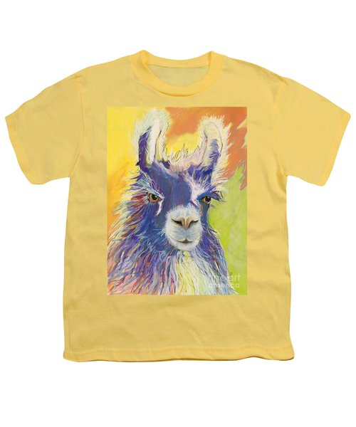 King Charles Youth T-Shirt by Pat Saunders-White