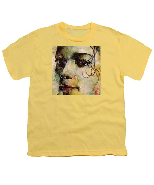 Man In The Mirror Youth T-Shirt by Paul Lovering