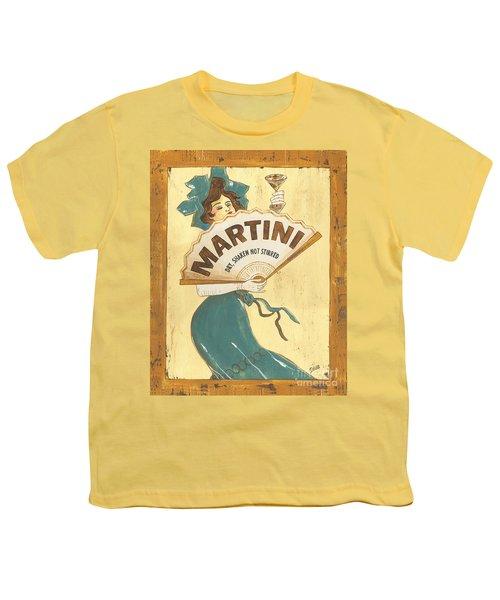 Martini Dry Youth T-Shirt by Debbie DeWitt