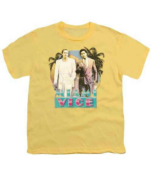 Miami Vice - 80's Love Youth T-Shirt by Brand A