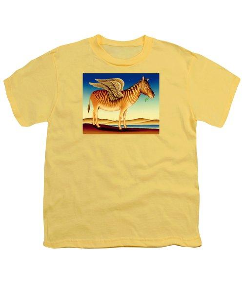 Quagga Youth T-Shirt by Frances Broomfield