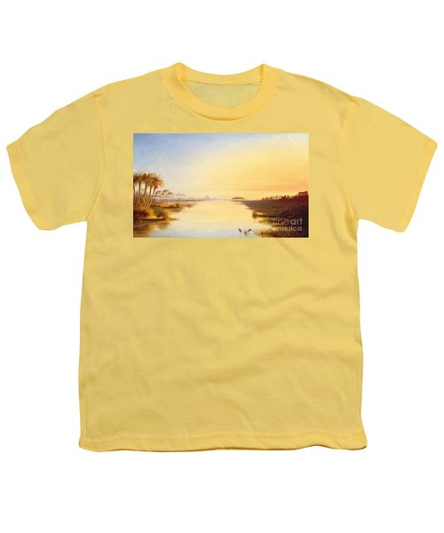 Egyptian Oasis Youth T-Shirt by John Williams