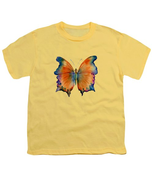 1 Wizard Butterfly Youth T-Shirt by Amy Kirkpatrick