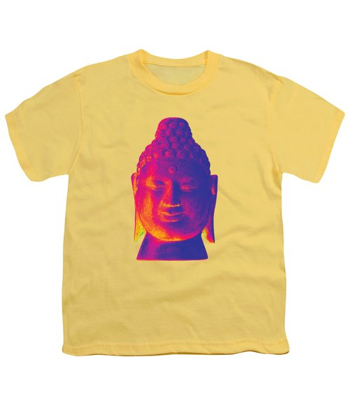 colorful Buddha - Borobudur Youth T-Shirt by Terrell Kaucher