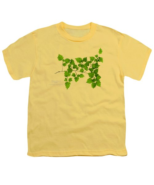 Hawthorn Youth T-Shirt by Christina Rollo