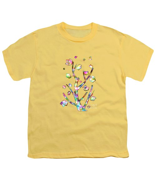 Rainbow Tree Youth T-Shirt by Anastasiya Malakhova
