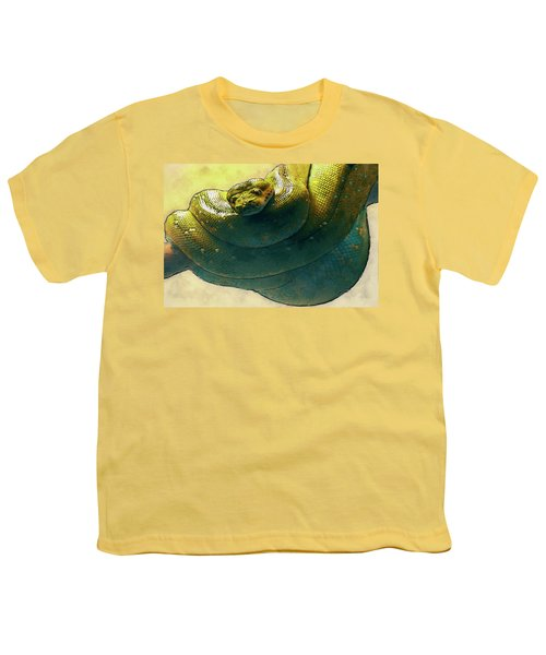 Coiled Youth T-Shirt by Jack Zulli
