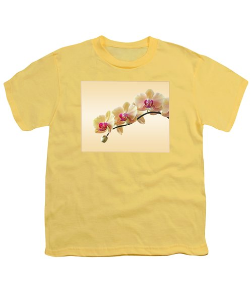 Cream Delight Youth T-Shirt by Gill Billington