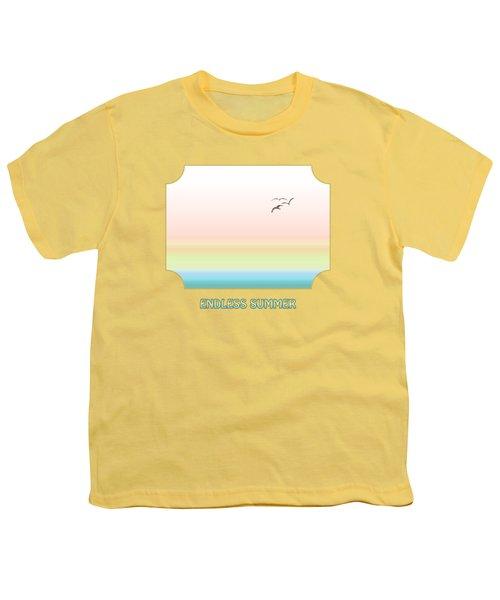 Endless Summer - Yellow Youth T-Shirt by Gill Billington