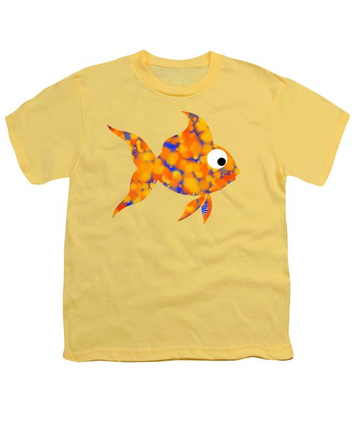 Fancy Goldfish Youth T-Shirt by Christina Rollo