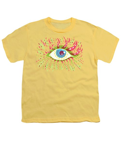 From Looking Psychedelic Eye Youth T-Shirt by Boriana Giormova