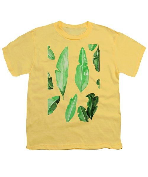 Leaves Youth T-Shirt by Cortney Herron
