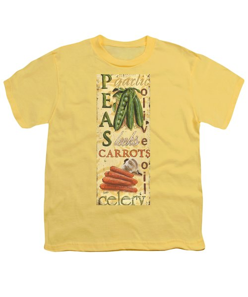 Pea Soup Youth T-Shirt by Debbie DeWitt