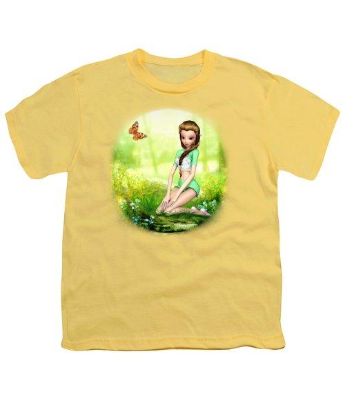 Springtime Pretties Youth T-Shirt by Brandy Thomas