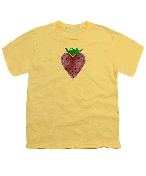 Strawberries Youth T-Shirt by Kathleen Sartoris