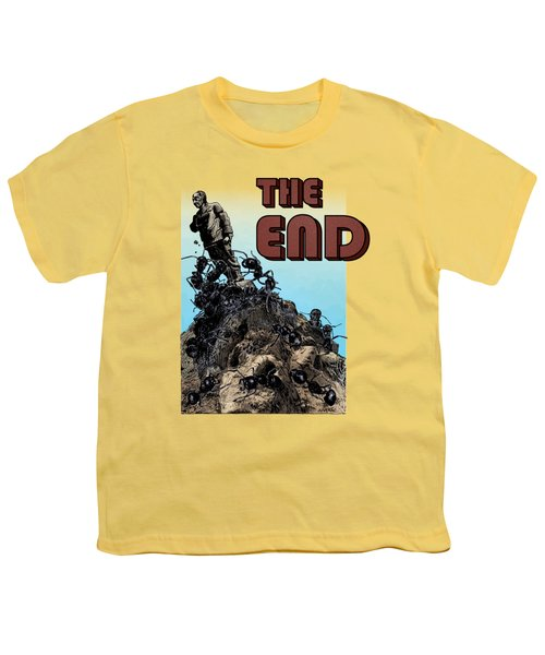 The End Youth T-Shirt by Joseph Juvenal