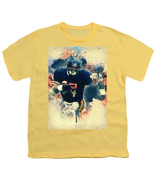 Walter Payton Youth T-Shirt by Taylan Apukovska
