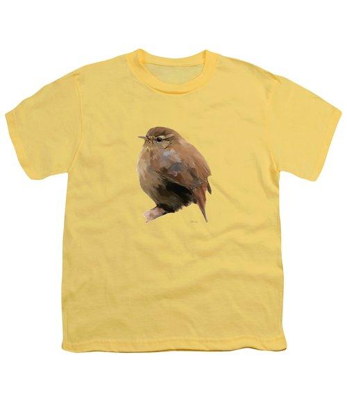 Young Female Blackbird - Turdus Merula Youth T-Shirt by Bamalam  Photography