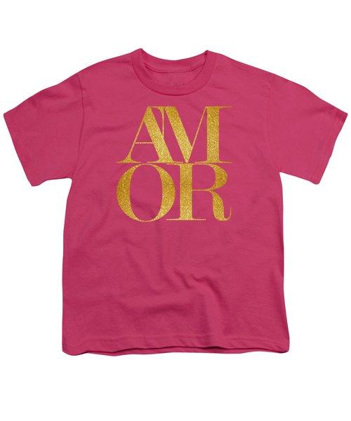 Amor Youth T-Shirt by Liesl Marelli