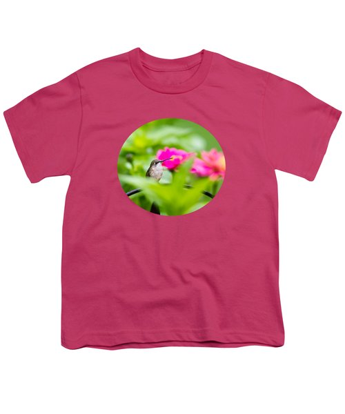 Pretty Garden Jewel Youth T-Shirt by Christina Rollo