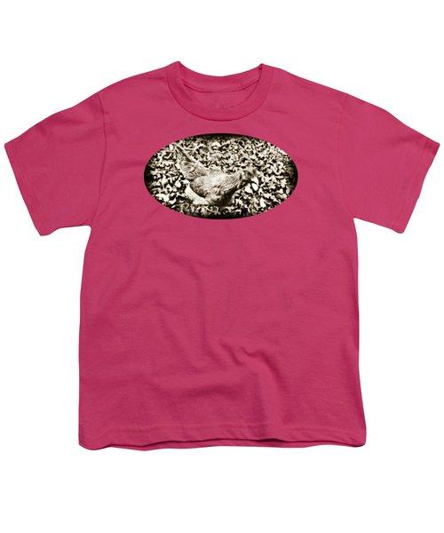 Intensive Poultry Youth T-Shirt by Anita Faye