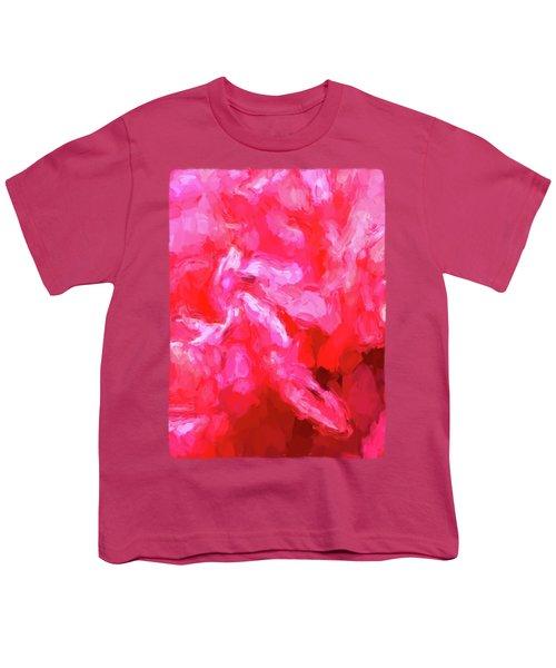 Pink Petals Youth T-Shirt by Jackie VanO