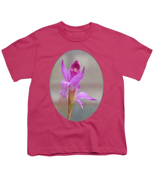 Purple Delight Youth T-Shirt by Gill Billington