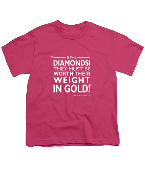 Real Diamonds Youth T-Shirt by Mark Rogan