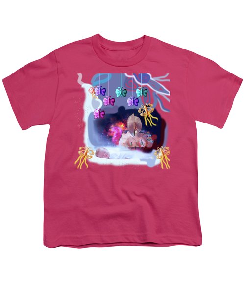 The Real Little Baby Dream Youth T-Shirt by Artist Nandika  Dutt