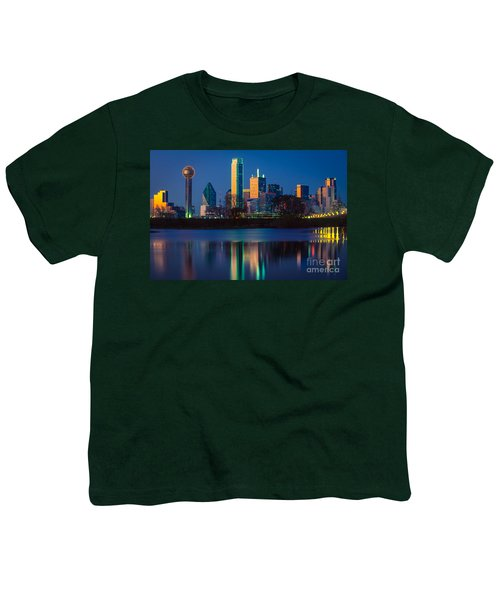 Big D Reflection Youth T-Shirt by Inge Johnsson