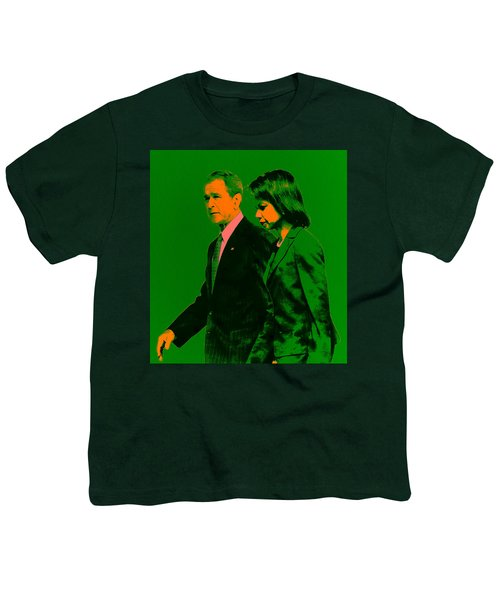 Bush And Rice Youth T-Shirt by Brian Reaves