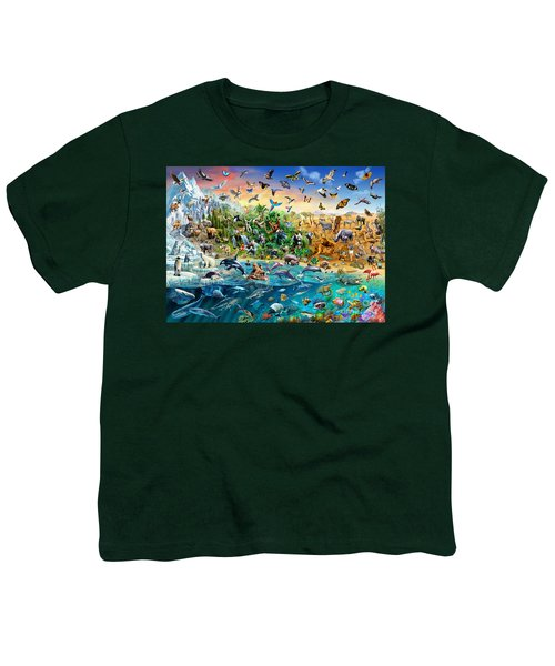 Endangered Species Youth T-Shirt by Adrian Chesterman